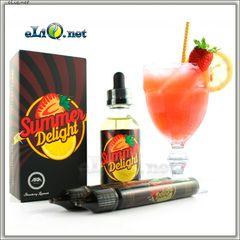 60 мл ARIA Summer Delight - Strawberry Lemonade - Премиальные жидкости из США. (30PG/70VG) Ария. Клубничный лимонад.