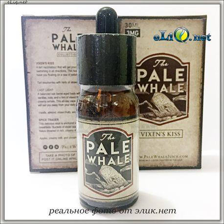 30 мл THE PALE WHALE Vixens Kiss - Премиальные жидкости из США. (20PG/80VG) Белый кит.