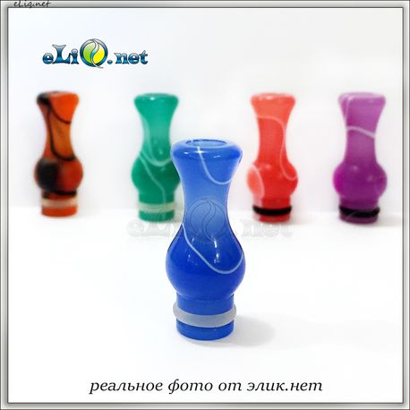 [510] Разноцветный дрип-тип в форме вазы. Colored Vase