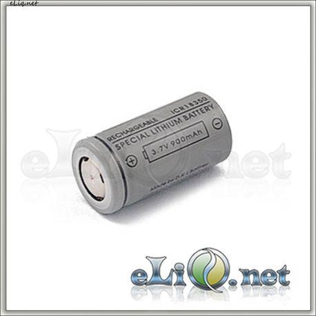 ICR 18350 (3.7V 900mAh) Unprotected