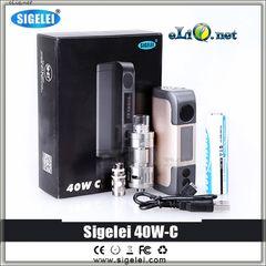 SIGELEI 40W-C TC Box Mod + Tank. боксмод вариватт с температурным контролем + сабомный атомайзер.