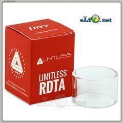 IJOY Limitless RDTA Glass Tube. Стеклянная колба для Лимитлесс РДТА.