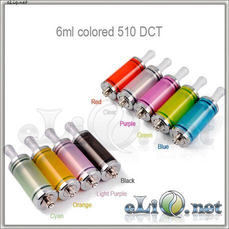 6 мл 510 DCT (Dual Coil Tank) aluminium
