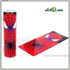 Spiderman & Superman. Человек-паук и Супермен. Термоусадка для аккумуляторов 18650