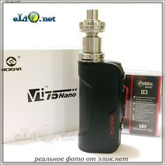 Kit: 75W Hcigar VT75 Nano DNA75 + Goblin v3 Mini RTA. Набор.