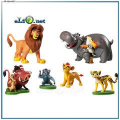 Набор фигурок из мультфильма The Lion Guard. Хранитель Лев. Львиная Гвардия.