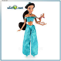 Кукла принцесса Жасмин и мини-фигурка обезьянка Абу (Disney, Jasmine, Abu)