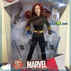 Коллекционная фигурка кукла Черная Вдова. Marvel Disney. Black Widow Action Figure. Марвел, Дисней оригинал