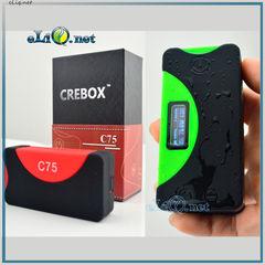 CreBox C75 (Waterproof) - оригинальный боксмод от Blitz Enterprises в водонепроницаемом корпусе.