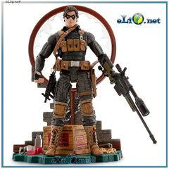 Коллекционная фигурка Зимний Солдат. Marvel Disney. Winter Soldier Action Figure. Марвел, Дисней оригинал