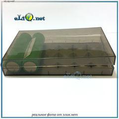 Efest H6 case. Пластиковый кейс для хранения и транспортировки 6 аккумуляторов 18650