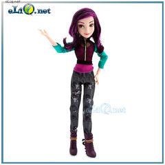 Кукла Мэл. Наследники. Mal Doll Descendants Disney. Дисней оригинал США Отпрыски