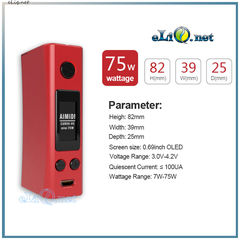 Aimidi Curve V5 Mini TC 75W Box Mod  - боксмод вариватт с температурным контролем.