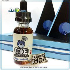 30 ml Blue Velvet (CAKE) - Премиальные жидкости из США + Сюрприз. Черничный пирог.