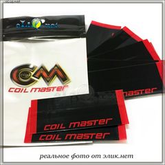 10 шт Coil Master. Термоусадка (пленка) для аккумуляторов 18650