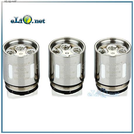 SMOK TFV8 V8-T10 Decuple Core - Десятиспиральный испаритель.