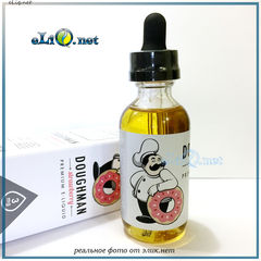 Doughman Strawberry - Premium e-liquid - Baked in USA. Доугмен - Клубника. США.