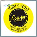 0.25 Ом. CoilART Taiji 28ga * 32ga + 22ga A1 крутые койлы от компании Койларт