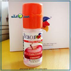 10 мл. Яблоко, Apple Stark. FlavourArt - ароматизатор для самозамеса. FA Италия.