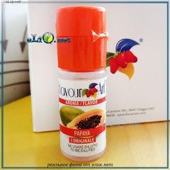 10 мл. Папайя, Papaya. FlavourArt - ароматизатор для самозамеса. FA Италия.