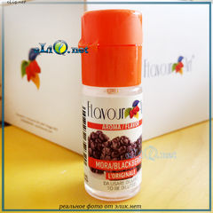 10 мл blackberry, ежевика. FlavourArt - ароматизатор для самозамеса. FA Италия.