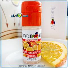10 мл. Citrus Mix, цитрусовый микс, FlavourArt - ароматизатор для самозамеса. FA Италия.