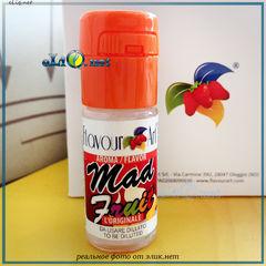 10 мл. Mad fruit, FlavourArt - ароматизатор для самозамеса. FA Италия. Фруктовый микс
