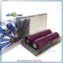 [40A] 2600mah Efest Purple IMR18650  - flat top - Высокотоковый аккумулятор, без защиты, с плоским верхом.
