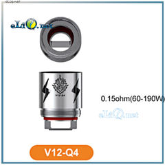 SMOK V12 Q4 Coils (0.15ohm) for TFV12. Испарители для ТВФ12 от Смок.