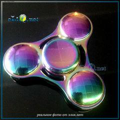 Спиннер Радуга / Fidget Spinner Toy Dazzling Colorful / Игрушка антистресс.