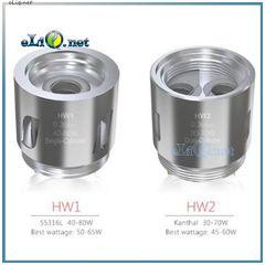 Испаритель SS316L 0.2ома HW1 Dual-Cylinder для Eleaf Ello Mini и Ello Mini XL Танк