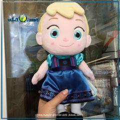 Toddler Elsa Plush Doll. Эльза Холодное сердце Дисней. Frozen Disney - плюшевая кукла-малышка.