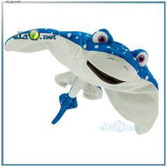"""Мистер скат Рей - большая плюшевая игрушка из мультфильма """"В поисках Дори"""". Дисней оригинал."""