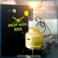 Дрипка Oumier Wasp Nano RDA. Обслуживаемый атомайзер Оса.
