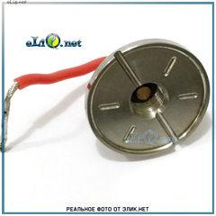 510 Коннектор для батарейных модов. SS. 25 мм.