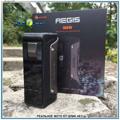 GeekVape AEGIS 100W Box Mod, батарейный блок - вариватт
