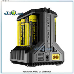 Nitecore I8, универсальное восьмислотовое зарядное устройство