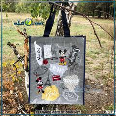 Mickey Travel Reusable Tote - сумка Микки и Минни Путешествия. Дисней оригинал из США