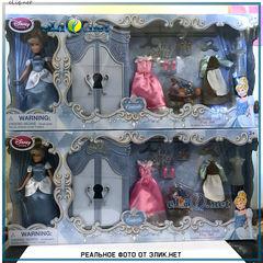 Игровой набор Золушка гардероб с аксессуарами (Disney) Дисней оригинал.