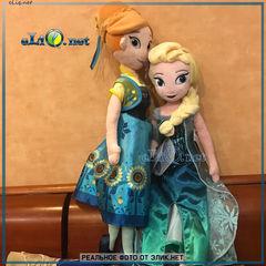 Куклы - принцессы Анна и Эльза, Frozen, Disney Холодное сердце. Дисней оригинал США, плюшевая игрушка