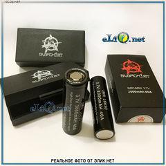 2шт. Anarchist 2600 / 3000 mAh IMR18650 - высокотоковые аккумуляторы в кейсе. Анархист.