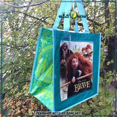 Сумка с карманом Мерида, Храбрая сердцем. Brave Reusable Tote. Дисней оригинал из США. Disney