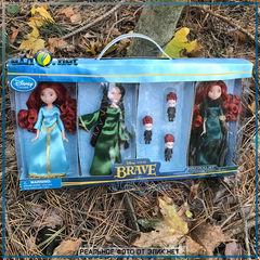 Мини набор Храбрая сердцем. Мерида Disney 6 кукол/ Pixar BRAVE Movie Exclusives