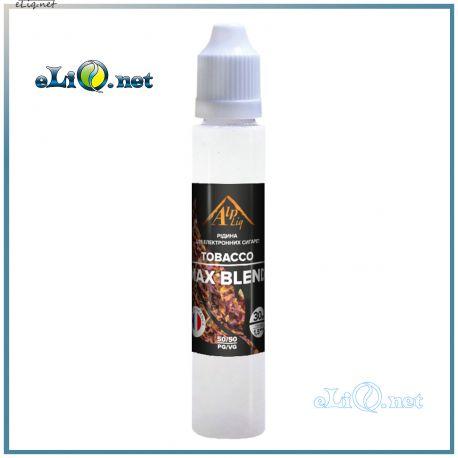 Max Blend / Tobacco жидкость для заправки электронных сигарет AlpLiq. Франция. Макс бленд