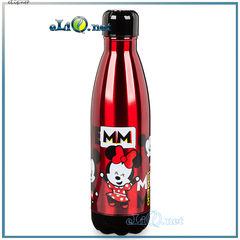 NEW 2017! Микки и Минни Маус красная металлическая бутылочка для воды. Mickey and Minnie Mouse MXYZ Water Bottle. Disney. 500 мл