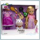 Подарочный набор кукла принцесса-малышка Рапунцель. Rapunzel Animators' Doll Gift Set Disney, Дисней оригинал из США