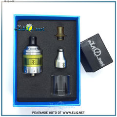 Vandy Vape Berserker MTL RTA Atomizer 2.0/4.5ml Silver- Обслуживаемый атомайзер с тугой затяжкой