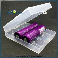 Efest H4 case. Пластиковый кейс для хранения и транспортировки 4 аккумуляторов 18650
