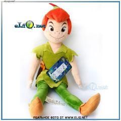 Мягкая плюшевая кукла Питер Пен Дисней. Peter Pen Disney оригинал США