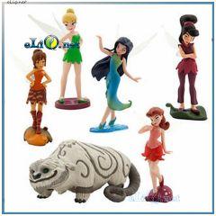 Набор фигурок Феи: Легенда о чудовище (загадочном звере).  Disney оригинал США, Дисней Legend of the NeverBeast